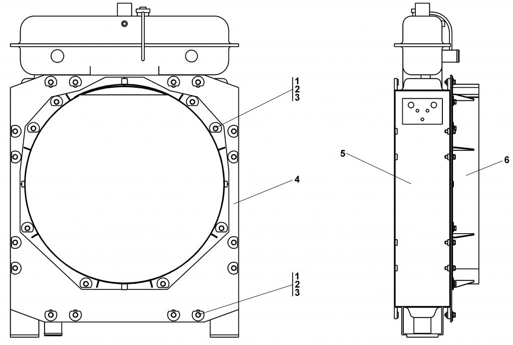 1102-60-141СП Установка радиаторная | Каталог ЧЕТРА Т-11.01Я1, Т-11.01Я1М