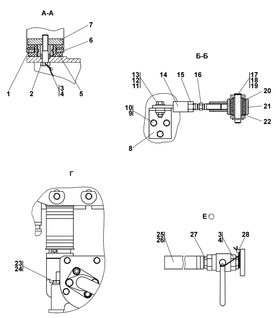 1102-60-3-20СП Система охлаждения   Каталог ЧЕТРА Т-11.01Я1, Т-11.01Я1М
