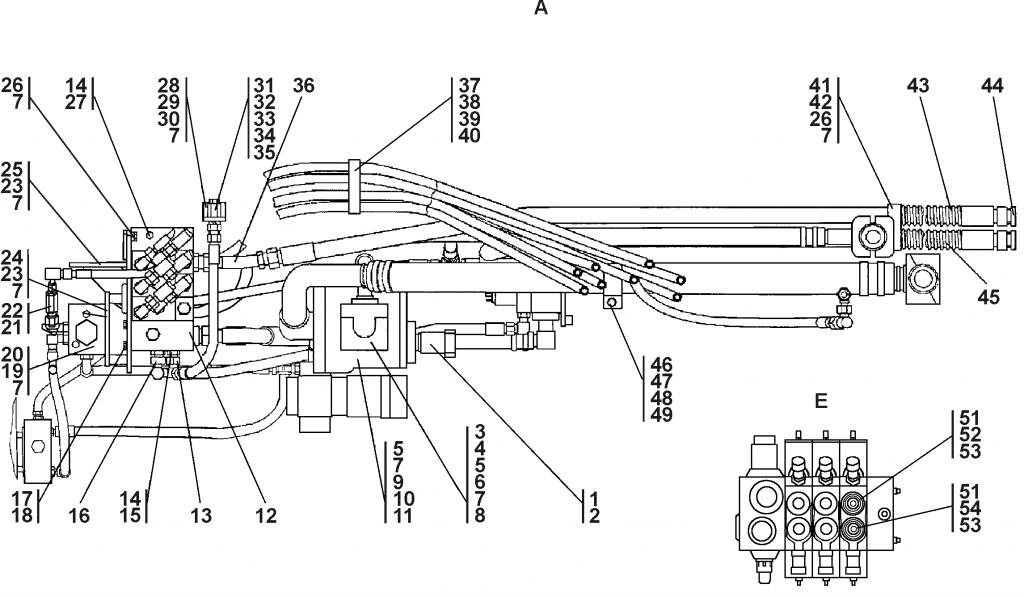 1101-26-2СП Установка гидросистемы | Каталог ЧЕТРА Т-11.01Я1, Т-11.01Я1М