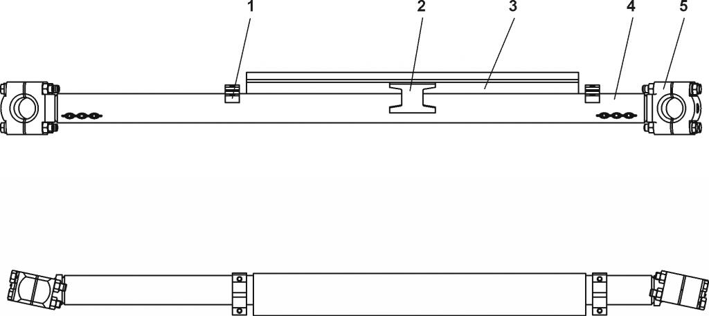 011101-93-290СП Тяга поперечная | Каталог ЧЕТРА Т-11.01Я1, Т-11.01Я1М