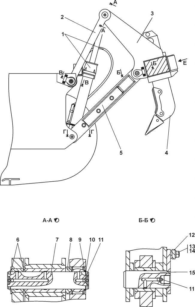 011101-98-1-02СП Оборудование рыхлительное | Каталог ЧЕТРА Т-11.01Я1, Т-11.01Я1М
