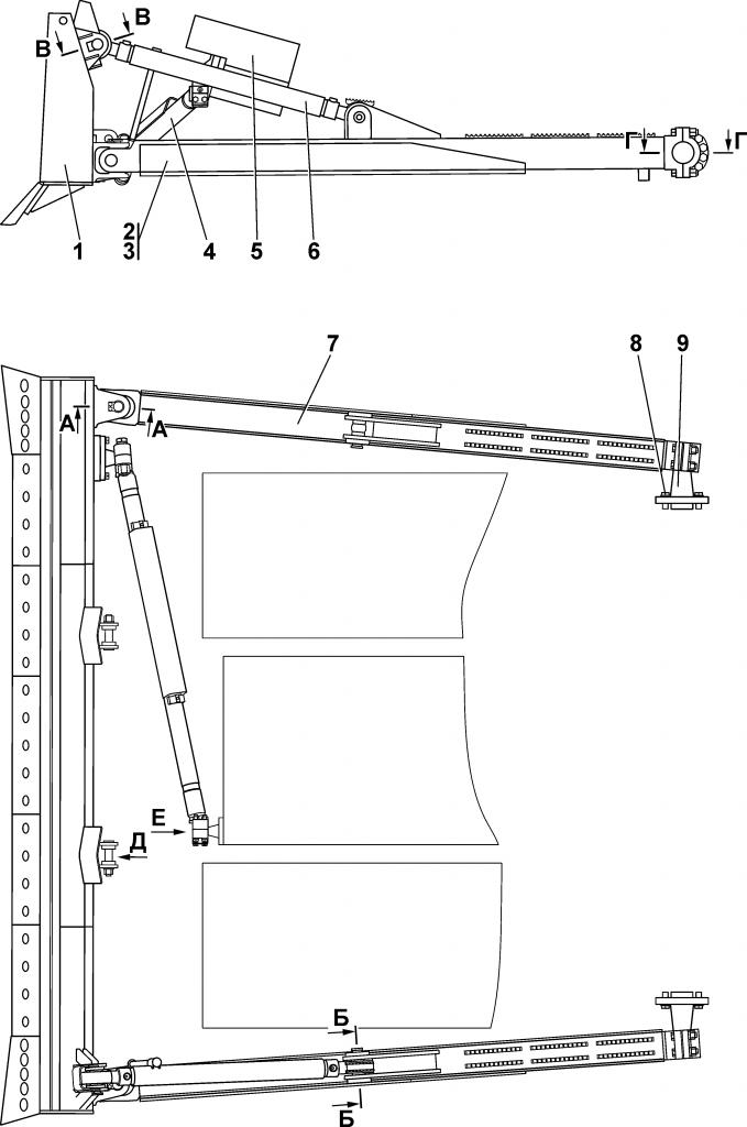 211112-91-1СП Оборудование бульдозерное прямое | Каталог ЧЕТРА Т-11.01Я1, Т-11.01Я1М