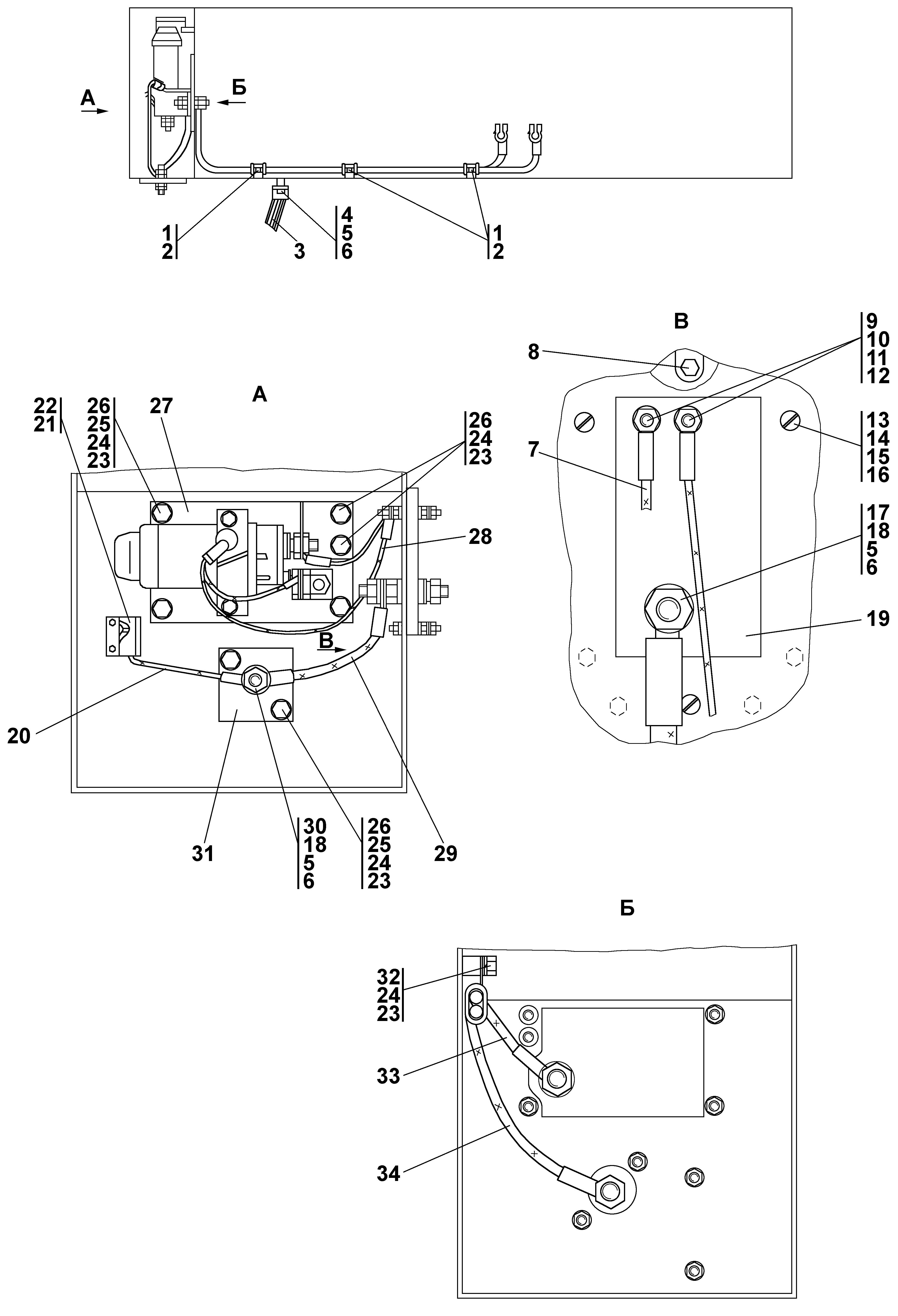 схема электрооборудования четра т-11-02