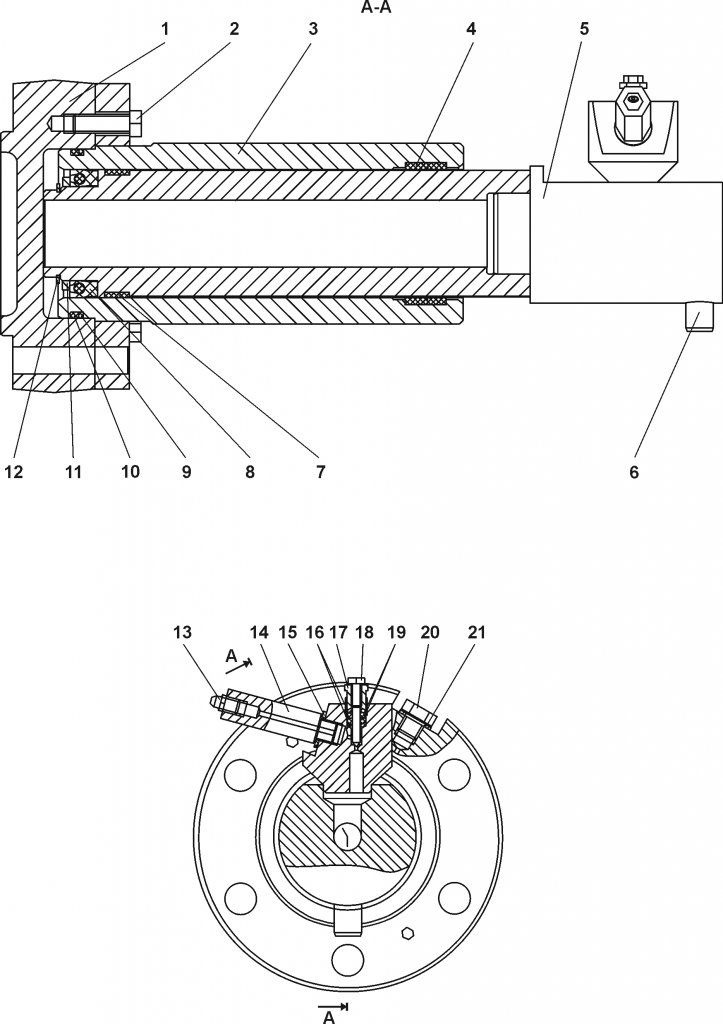 1101-21-43-02СБ/-03СБ Механизм натяжения | Каталог ЧЕТРА Т-15.01Я, Т-15.01ЯМ