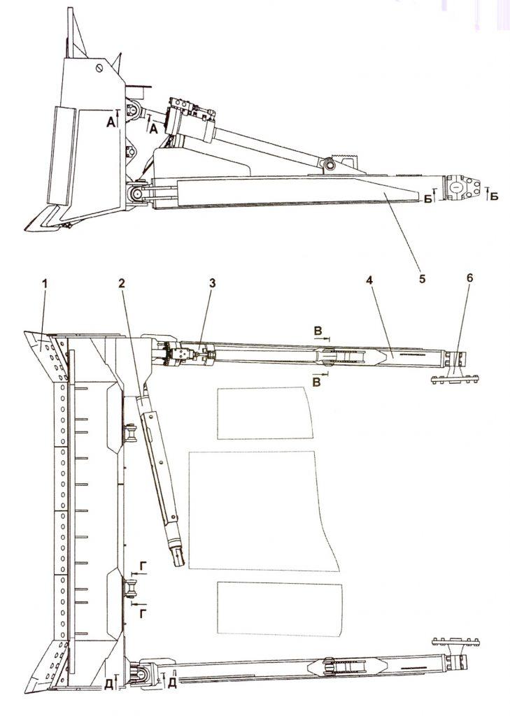 013516-93-1СП Оборудование бульдозерное полусферическое