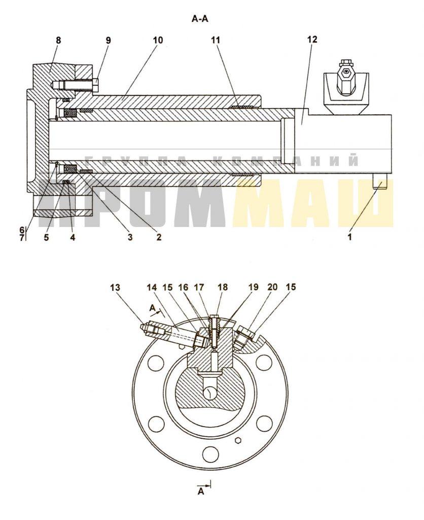 4001-21-117-04СП Механизм натяжения