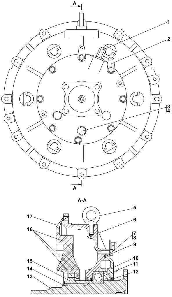 1102-20-1СП Муфта упругая | Каталог ЧЕТРА Т-11.01Я1, Т-11.01Я1М