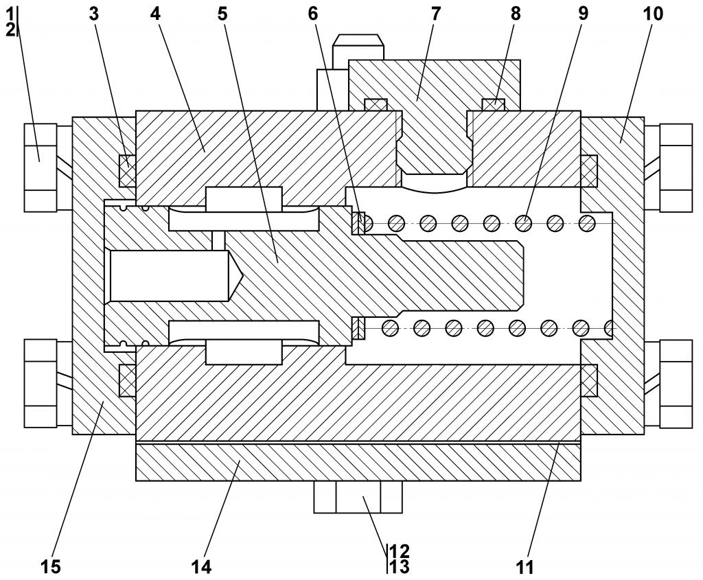 0901-15-3СП Клапан | Каталог ЧЕТРА Т-11.01Я1, Т-11.01Я1М