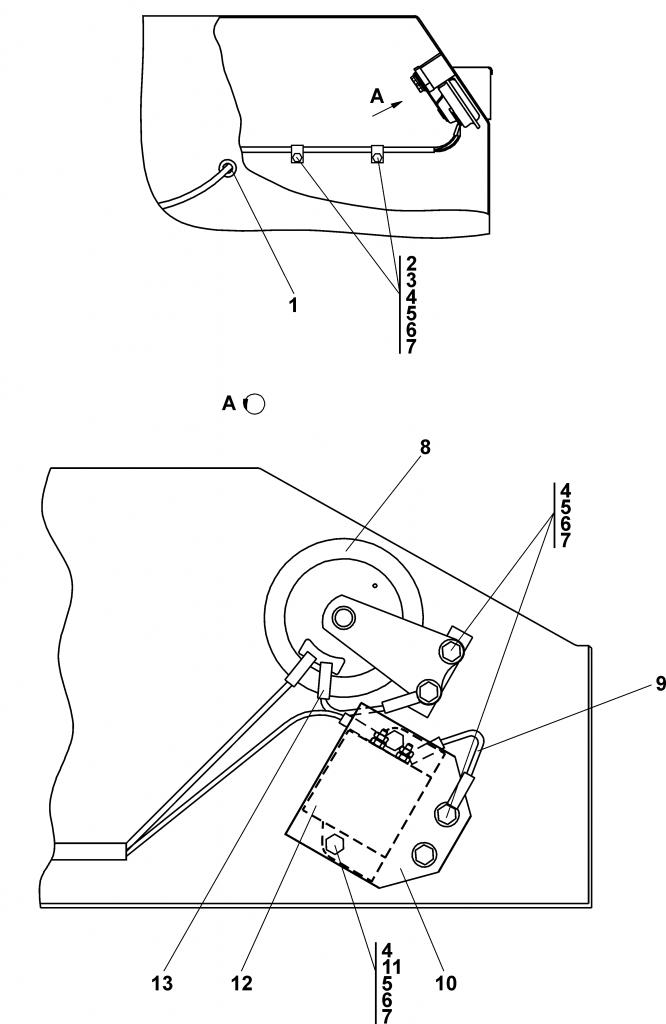 0902-10-15СБ Установка звуковых сигналов в контейнере АКБ | Каталог ЧЕТРА Т-11.01Я1, Т-11.01Я1М