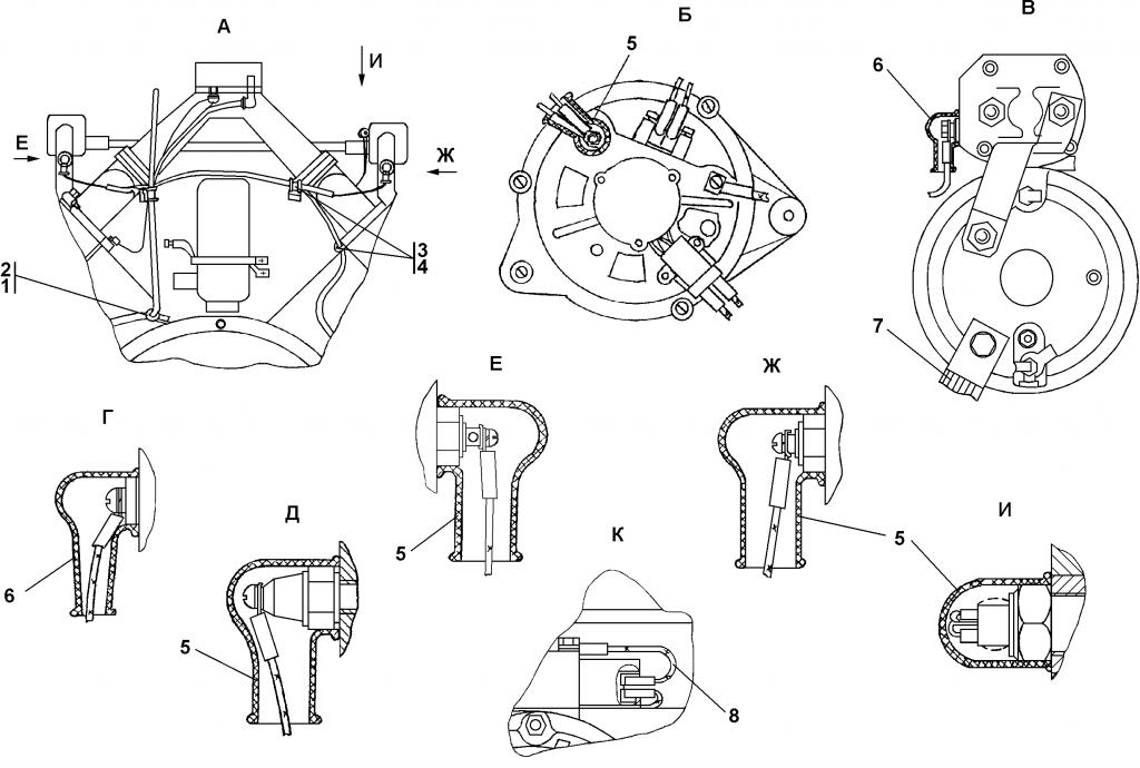 1102-10-12СБ Электрооборудование двигателя | Каталог ЧЕТРА Т-11.01Я1, Т-11.01Я1М