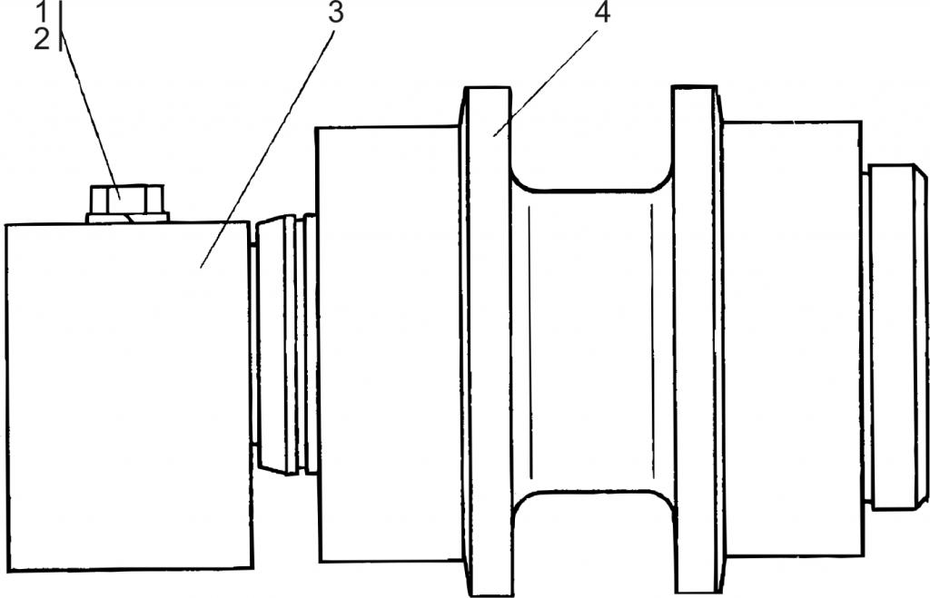 1501-21-10СБ Каток поддерживающий | Каталог ЧЕТРА Т-15.01Я, Т-15.01ЯМ