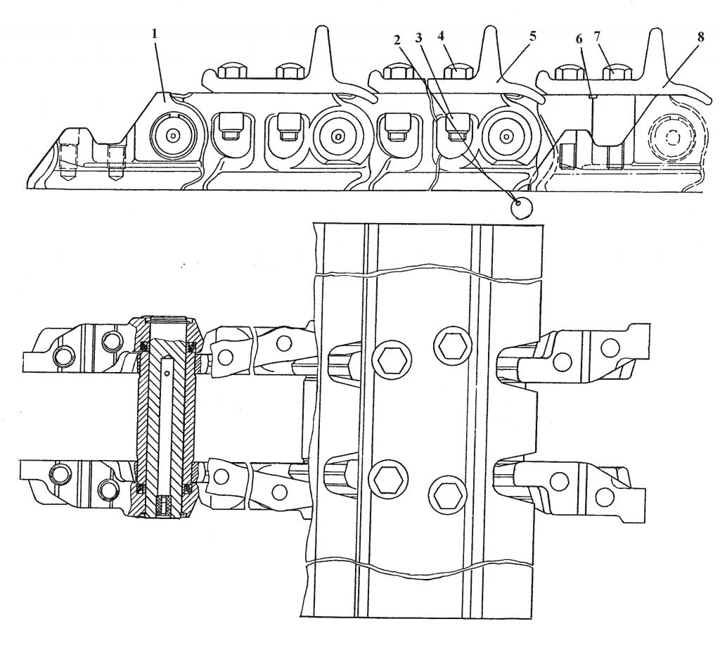 ТЖ216-22-000 Гусеница | Каталог ЧЕТРА Т-15.01Я, Т-15.01ЯМ