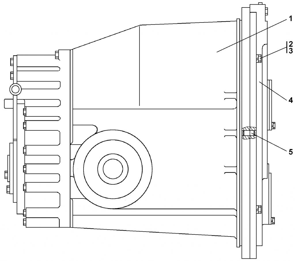 2001-12-13СБ Блок трансмиссии | Каталог ЧЕТРА Т-15.01Я, Т-15.01ЯМ