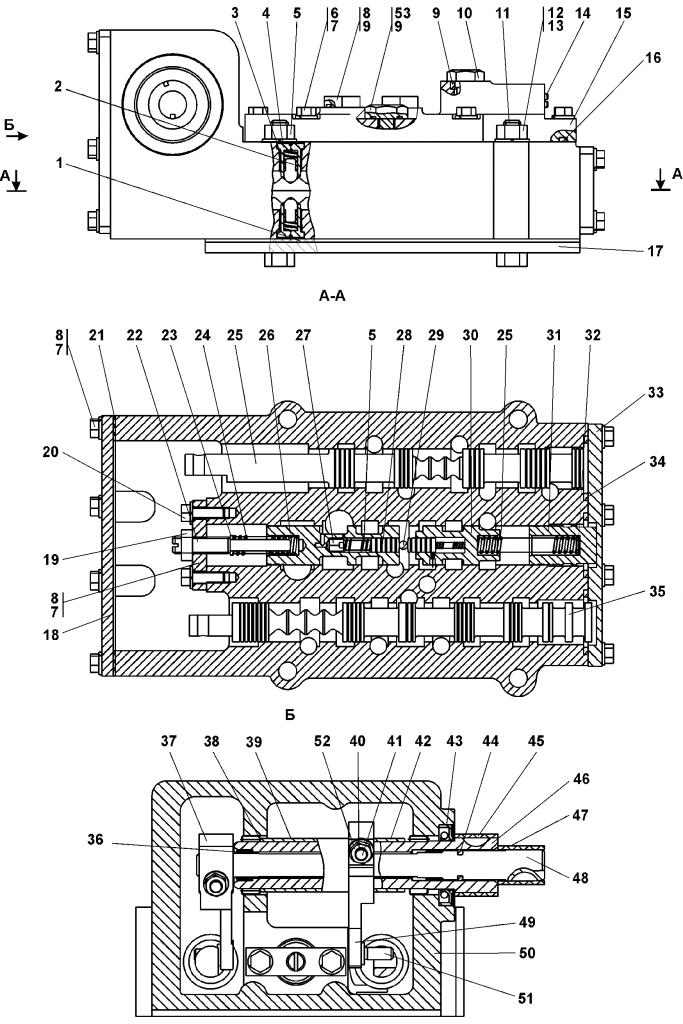 1501-15-20СБ Блок управления | Каталог запчастей ЧЕТРА Т-15.01Я, Т-15.01ЯМ