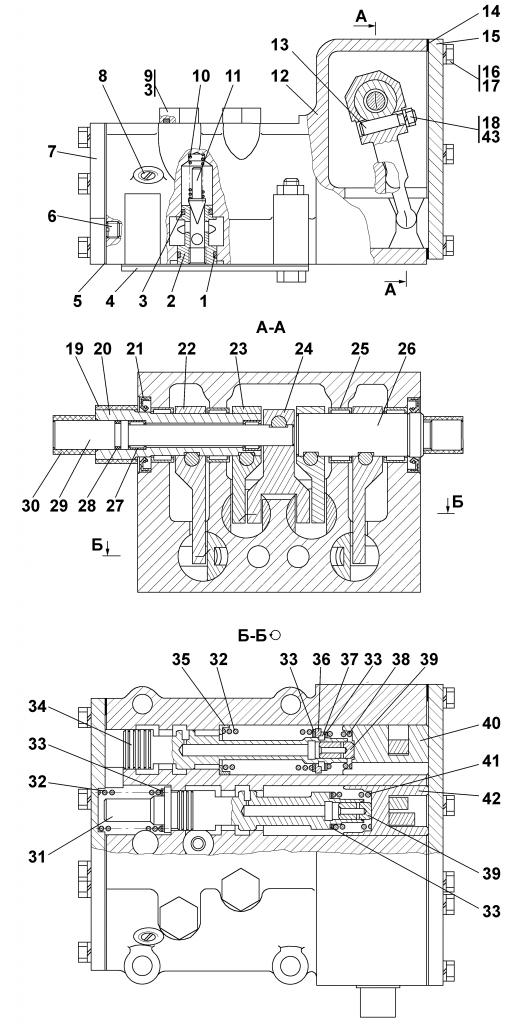 1501-15-41СБ Блок управления | Каталог запчастей ЧЕТРА Т-15.01Я, Т-15.01ЯМ