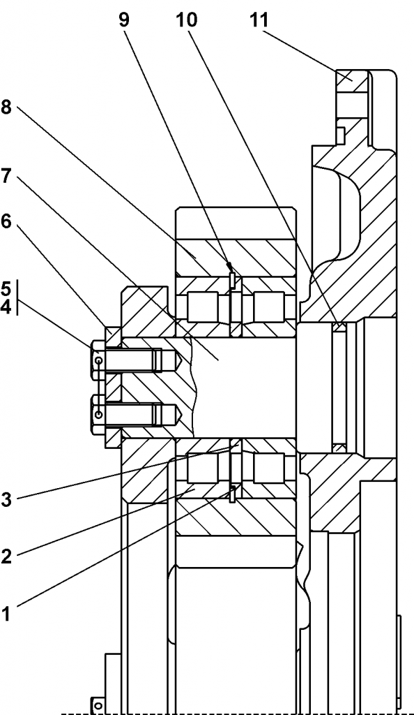 1501-19-101СБ Водило | Каталог запчастей ЧЕТРА Т-15.01Я, Т-15.01ЯМ