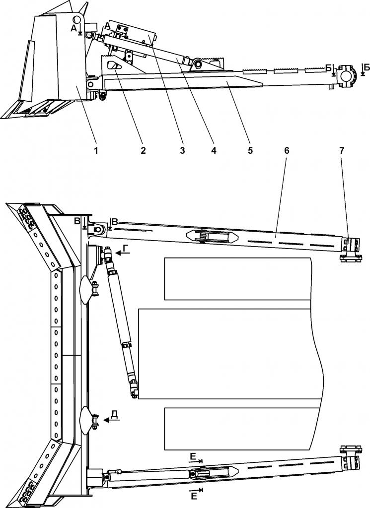 011501-92-3СБ Оборудование бульдозерное сферическое - Каталог ЧЕТРА Т-15.01Я, Т-15.01ЯМ