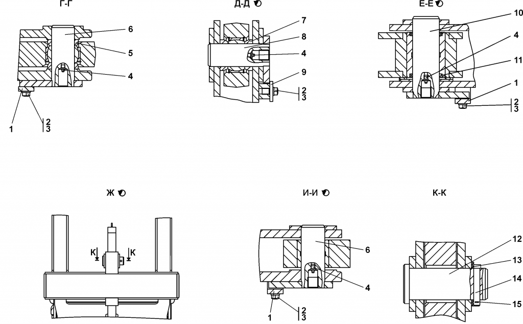 011501-98-2СБ Оборудование рыхлительное - Каталог ЧЕТРА Т-15.01Я, Т-15.01ЯМ 1
