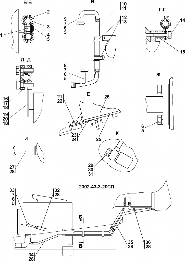 2002-43-3СП Установка системы подогрева - Каталог ЧЕТРА Т-15.01Я, Т-15.01ЯМ 1