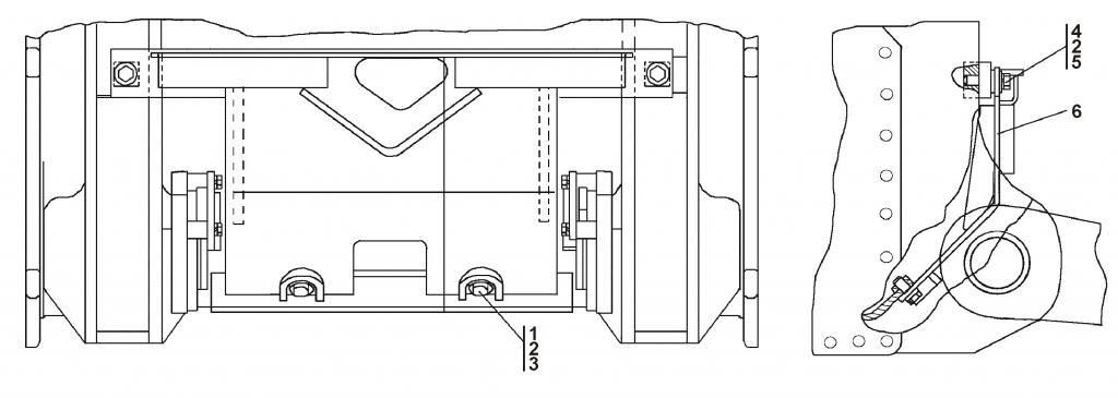 2501-65-1СП Установка щитка - Каталог ЧЕТРА Т 35.01, ЧЕТРА Т 35, Т 3501, ЧЕТРА Т35