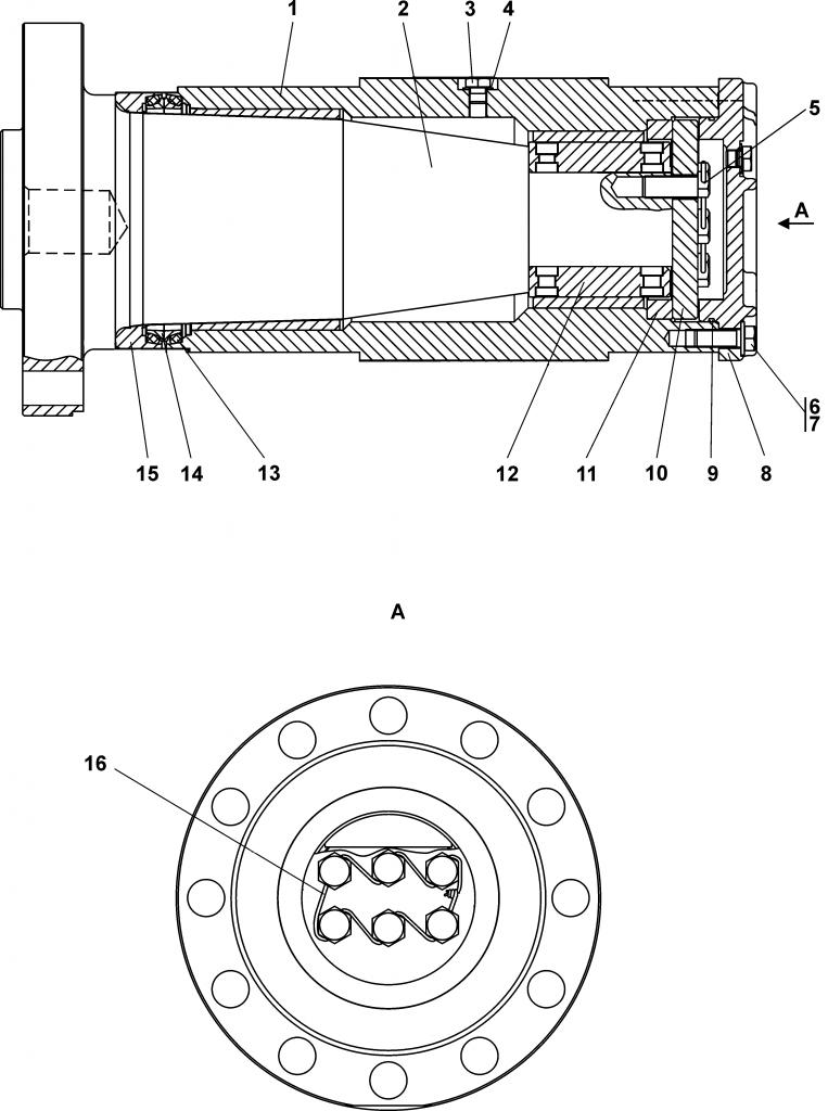 3501-21-190СП Шарнир - Каталог ЧЕТРА Т 35.01, ЧЕТРА Т 35, Т 3501, ЧЕТРА Т35