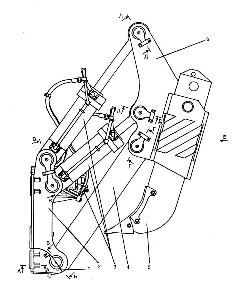 3501-97-1СП Оборудование рыхлительное - Каталог ЧЕТРА Т 35.01, ЧЕТРА Т 35, Т 3501, ЧЕТРА Т35