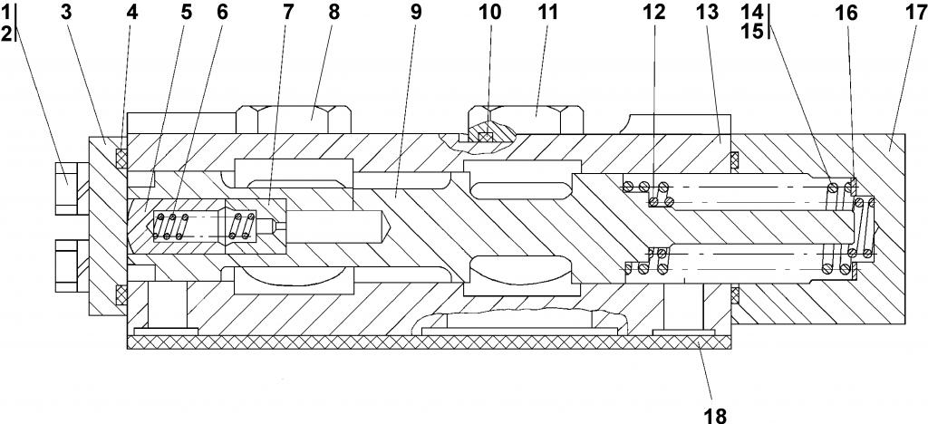 2501-15-22СП Клапан - Каталог ЧЕТРА Т 35.01, ЧЕТРА Т 35, Т 3501, ЧЕТРА Т35