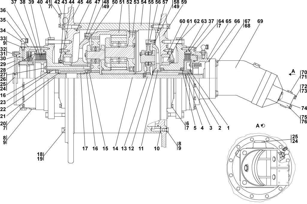 3501-96-10СП Лебедка