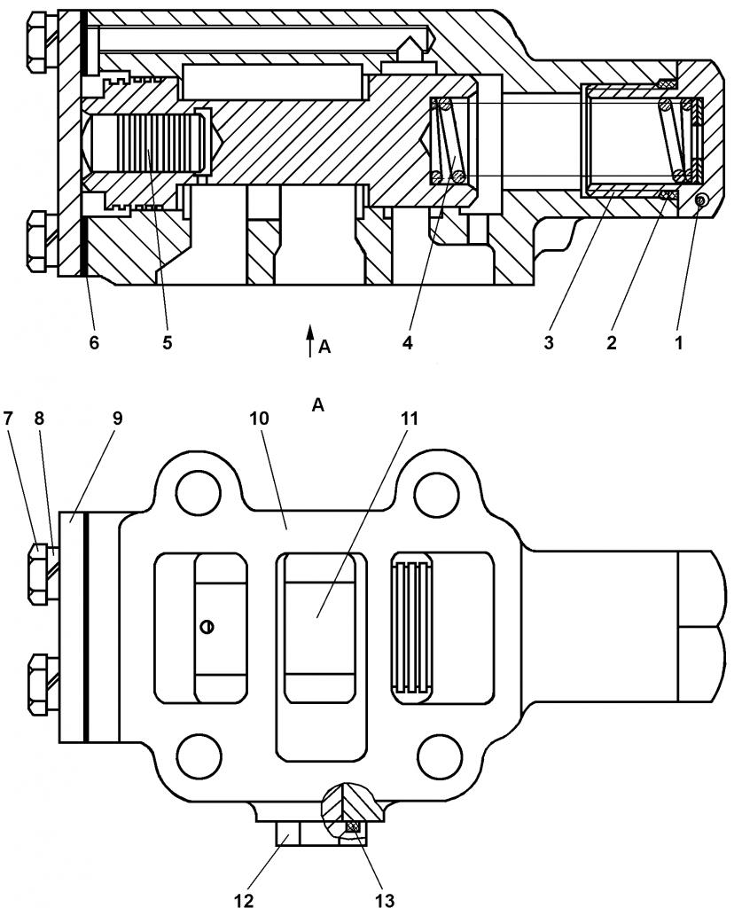 2501-15-138-01СП Клапан - Каталог ЧЕТРА Т 35.01, ЧЕТРА Т 35, Т 3501, ЧЕТРА Т35