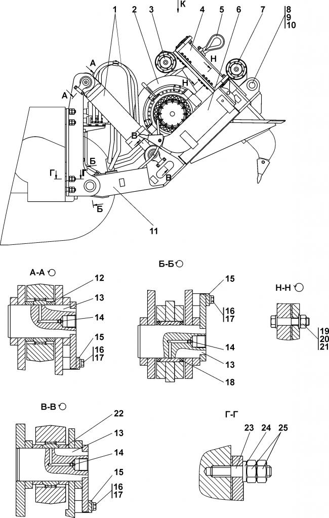 3501-96-1СП Агрегат тяговый - Каталог ЧЕТРА Т-35, Т-35.01Я, Т-35.02К