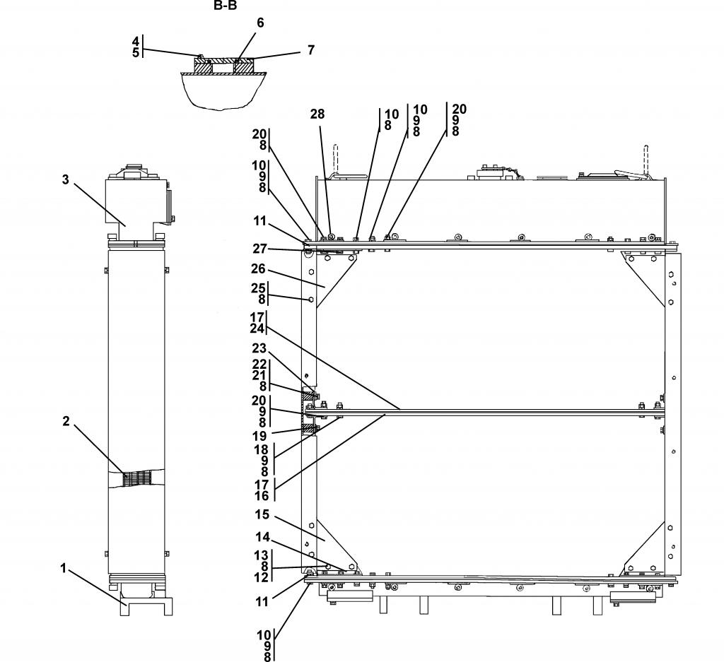 3506-60-109СП Радиатор - Каталог ЧЕТРА Т-35, Т-35.01Я, Т-35.02К