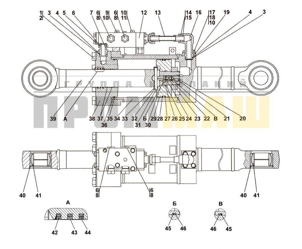013516-93-518СП Гидрораскос D220 - ЧЕТРА Т35, Т-35.01Я, Т-35.02К