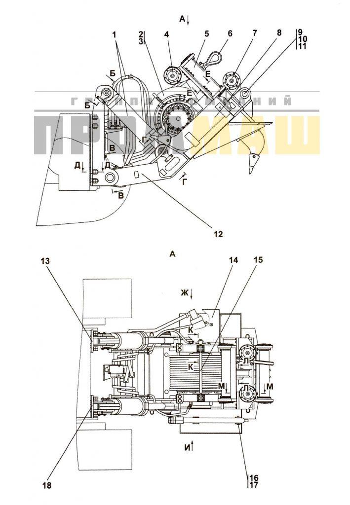 3501-96-1-01СП Агрегат тяговый 1