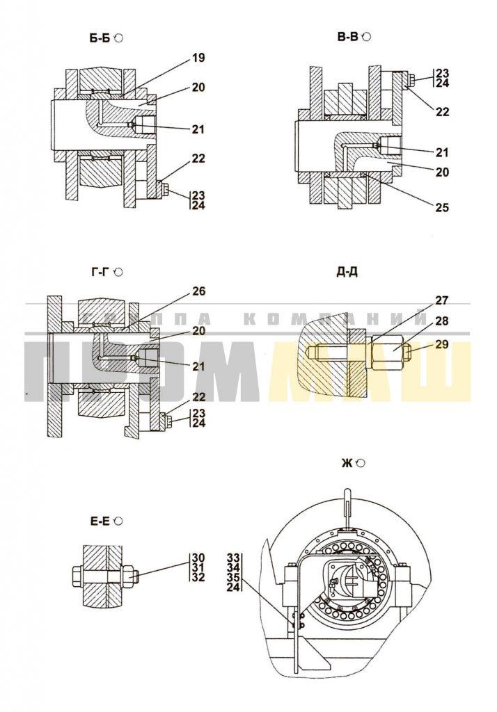 3501-96-1-01СП Агрегат тяговый 2