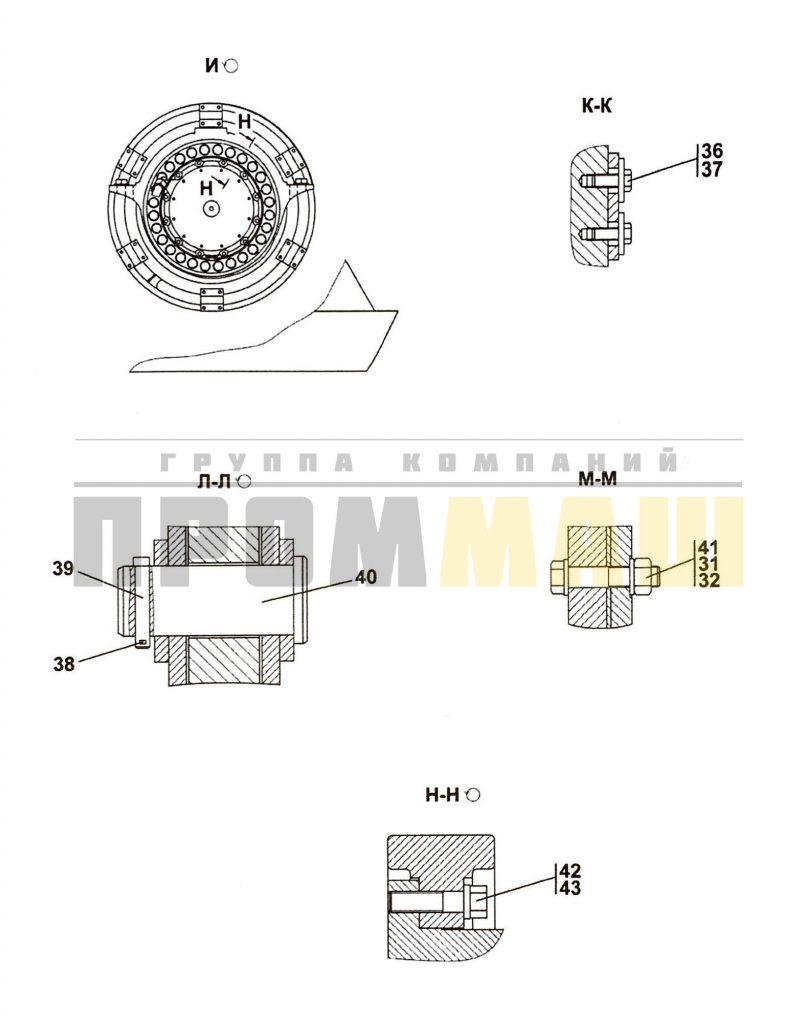 3501-96-1-01СП Агрегат тяговый 3