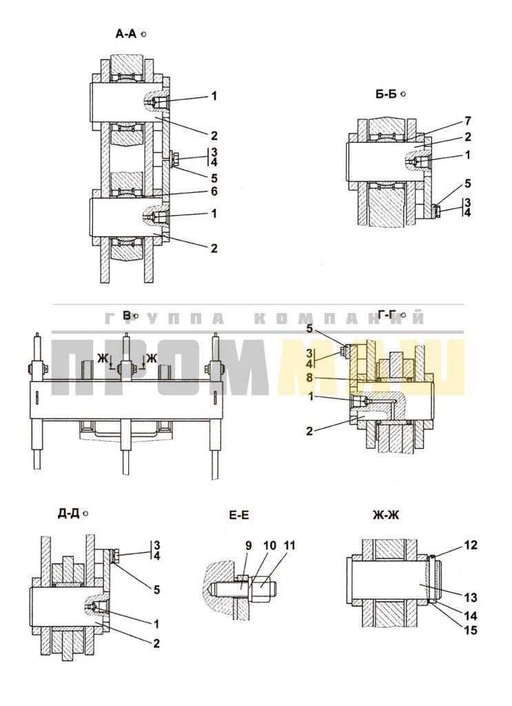 3501-97-1-01СП Оборудование рыхлительное ЧЕТРА Т35, Т-35.01Я, Т-35.02К