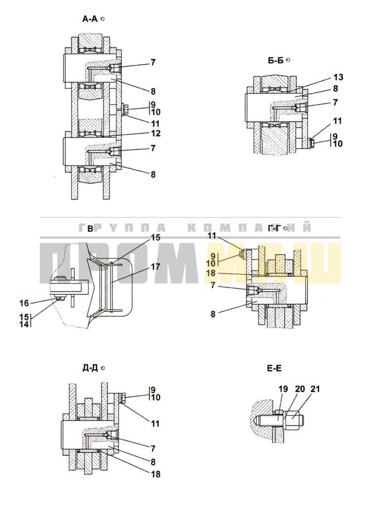 3501-98-1-01СП Оборудование рыхлительное ЧЕТРА Т35, Т-35.01Я, Т-35.02К