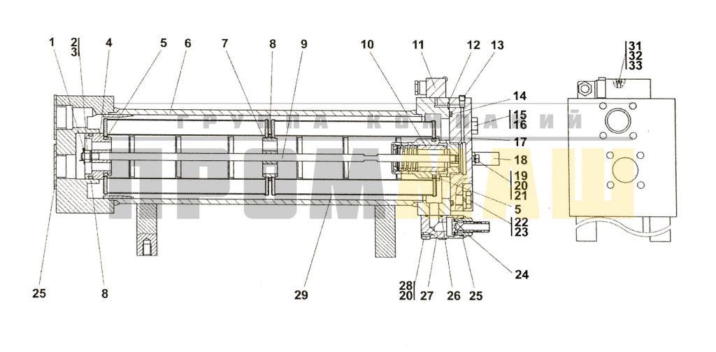 Поз.№10 - 4001-15-106СП Клапан - 4001-15-10СП Фильтр ЧЕТРА Т35, Т-35.01Я, Т-35.02К