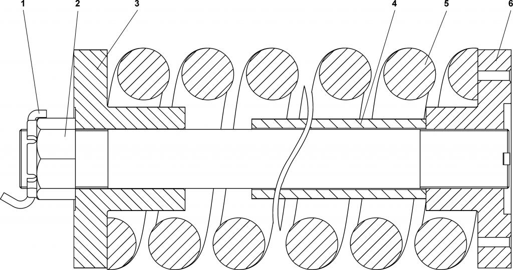 2501-21-180СП Механизм сдавания - ЧЕТРА Т25, Т-25.01Я, Т-25.02К